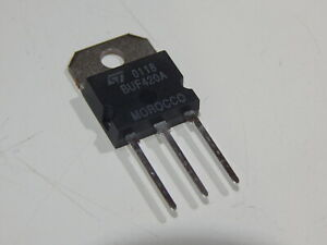 St Micro Buf420a Npn High Voltage 450v 30a 200w Transistor Usa Fast Shipping