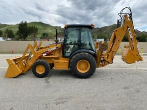 Case 590 Super M 4x4 Loaded Only 3000 Hours Ex California City Since New Clean