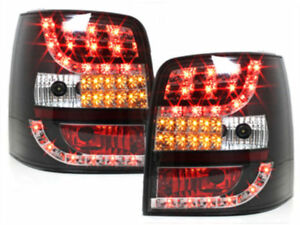 Black Led Tail Lights Vw Passat 3bg Wagon Estate 9 2000 3 2005 Nice Gift