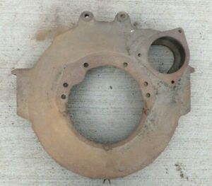 1928 1931 Model A Ford Flywheel Housing Original 3 Or 4 Speed Trans 1929 1930 Aa
