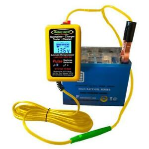 Battery Saver 6 12 Volt Micro maintainer Charger And Tester 10 Watt 1000