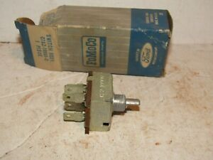 67 1967 Ford Galaxie Air Condition A C Blower Switch Nos