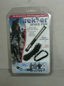Fisher Tactical Trekker Chrome Space Pen With Breakaway Lanyard