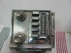 1959 1960 Mercury Ford Radio Original Oem