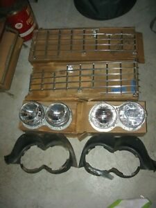 Nos Mopar 1959 Plymouth Grilles And Headlights