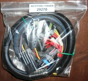 Western Fisher Blizzard Snow Ex 29270 Truck Side Light Harness 7 Pin