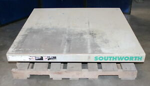 2 000 Lbs X 48 X 48 Southworth Ls2 24 Hydraulic Lift Table