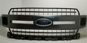 New Take Off Original Grille Fits 2018 2019 2020 Ford F150 Xlt Magnetic Gray