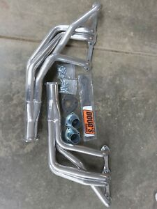 Dougs Headers Ceramic Coated Small Block Chevy D368