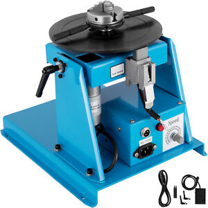 10kg Rotary Welding Positioner Turntable Table 110v Mini 0 90 2 5 Inch 3 Jaw