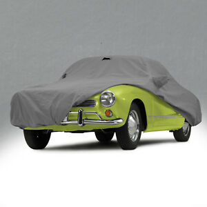 1956 1974 Volkswagen Ghia Gray Outdoor All Weather Typhoon Car Cover 317932