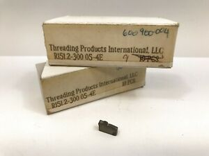 Threading Products International R151 2 300 05 4e New Carbide Inserts H13a 19pcs