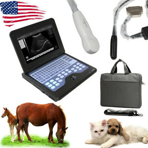 Contec Veterinary Ultrasound Scanner W 2 Probes microconvex Rectal Animal Use