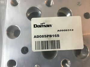 Daman Ad08spb16s Aluminum Bottom Ported Subplate