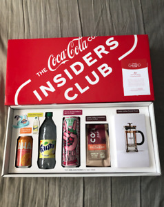 Coca-Cola INSIDER'S CLUB BOX March 2020 - BRAND NEW IN HAND! SOLD OUT EXCLUSIVE