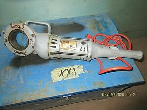 Ridgid Handheld Electric Power Drive Pipe Threader Threading Model 700 t2 Nice