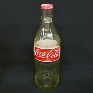 COCA COLA 1.5 LITRE VINTAGE BOTTLE COCA COLA BOTTLING TORONTO CANADA