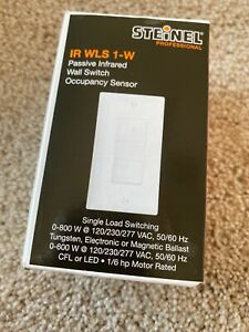 Steinel Professional Ir Wls 1 w Passive Infrared Wall Switch Occupancy Sensor