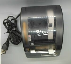 Brother Ql 500 Label Thermal Printer With Power Cable And Usb Cable
