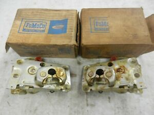 One Pair Of Door Latches Bronco Fairlane Comet Falcon 1962 67 Nos