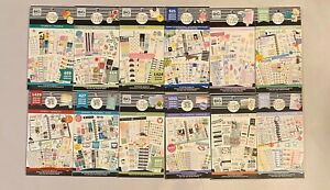 Lot Of 12 Happy Planner Sticker Books Me My Big Ideas New