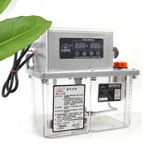 Newly 4l Electric Automatic Lubrication Pump Machine Tool Lubrication Pump Sale