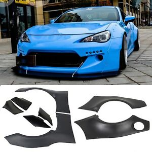 For 2013 2020 Subaru Brz 13 16 Scion Frs 86 Wide Body 8pc Fender Flares Cover