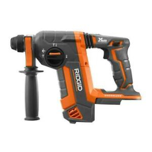 New Ridgid R86711b 18 volt Octane Cordless Brushless 1 Sds plus Rotary Hammer