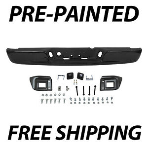 New Painted To Match Rear Step Bumper Assembly For 2002 2008 Dodge Ram 1500