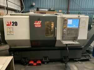 Haas St 20 Cnc Lathe 2012 Chip Conv Tailstock Tool Presetter