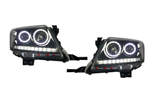 Angel Eyes Altezza Head Light Lamp Led For Toyota Hilux Vigo Sr5 2011 2015
