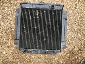 Original Marked Radiator Ford Mustang Falcon 6 Cylinder 1967 1968