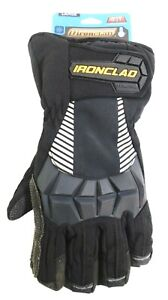Ironclad Black Cold Protection Gloves Size Large Insulated Lining Cct2 04 l