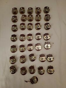 Lot Of 36 Pieces 10k Ohm Linear Taper Potentiometer Round Shaft Pc Mount