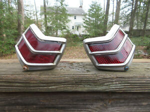 2 Oem Ford Tail Lights Assembly Model 60 85 Deluxe 85 Duolamp