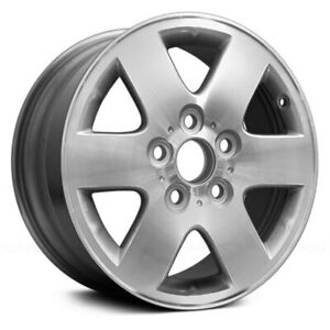 For Toyota Avalon 00 04 Alloy Factory Wheel 6 spoke Machined Silver 15x6 Alloy