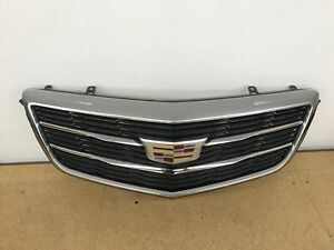 Cadillac Gm Oem 15 16 Ats Front Bumper Grille Grill Assy 22879627