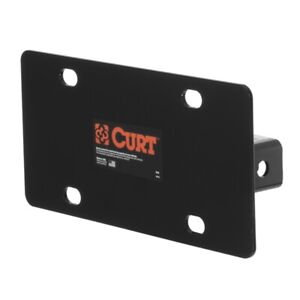 Curt Manufacturing Hitch mounted License Plate Holder 31002