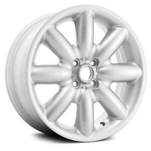 For Mini Cooper 02 13 8 Spoke White 17x7 Alloy Factory Wheel Remanufactured
