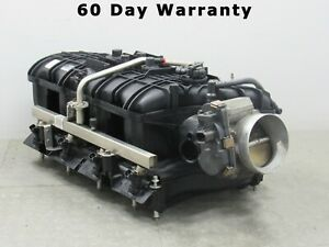 07 08 Chevy Nnbs 6 0 6 2 Ls L92 Ly6 Complete Intake Manifold Throttle Body 9989