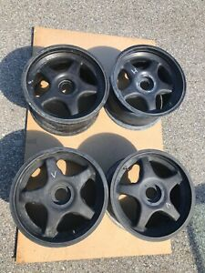 Porsche 961 Set Of Wheels Magnesium Fronts And Rears Insanely Rare