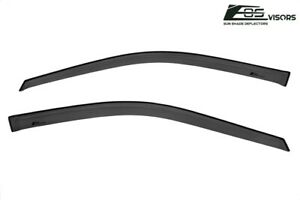 Eos Visors For 98 02 Honda Accord Coupe Jdm Tape On Side Window Vent Rain Guards
