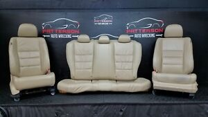 2012 Accord Coupe 3 5 Power Front Bucket Rear Seats Tan Leather
