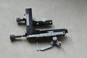 Lomo Microscope Stage Slider Holder Ct 12 Fits Zeiss Mikroskop