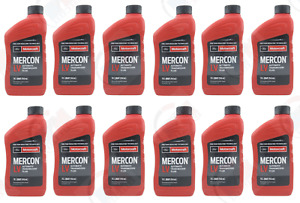 Motorcraft Mercon Lv Automatic Transmission Fluid 12 Quarts Pack For Ford