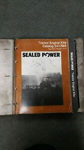 Vintage Lot Sealed Power Perfect Circle Catalog Parts Books Tractor Heavy Duty
