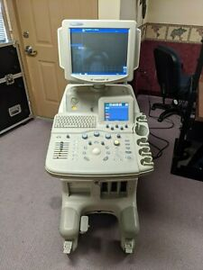 Ge Logiq 5 Expert Ultrasound Wipe Down Great Condition