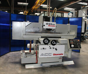 12 X 24 Okamoto Acc 1224 dx Automatic Surface Grinder 1996