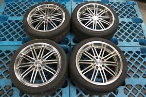 Jdm Wrest Wheels 5x114 3 18x8 Fronts 18x9 Rears Staggered