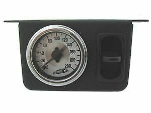 Airride Suspension Airbag Air Bags Paddle Switch Gauge Hot Rod Rat Rod Lower